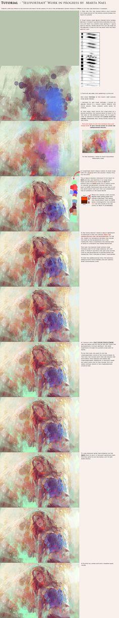 Digital Impressionism Tutorial by MartaNael.deviantart.com on @deviantART