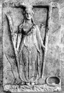 """""""Yes, lend me your hand I pray,  And reveal to me the pathways of divine guidance that I long for. . .""""  (Hekate relief, Thera, 200 BCE. Athens National Archaeological Museum. Proclus Diadochus Hymn, trans. Vogt)"""