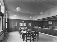 """""""Are the public really after the date stamp?"""": Photograph albums of post office interiors in POST 91 Photograph Album, Post Office, Office Interiors, Buildings, Public, Home Decor, Decoration Home, Room Decor, Snail Mail"""