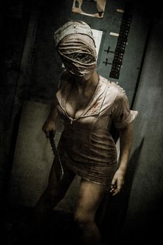 Silent Hill Nurse, love them theyre so scary in the movie they really work on my nerves