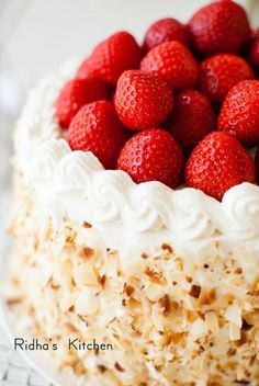 Strawberry Shortcake – Ridha's Kitchen - 2LC