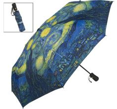 tardis van gogh umbrella