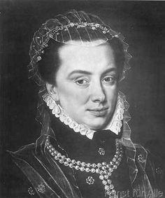 Sir Anthonis van Dashorst Mor - Margarete v.Österr.,Porträt,Ausschn./Mor