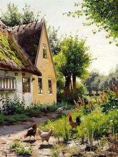 Diptyque's Crossing: Les paysages de l'artiste danois Peder Mork Monsted