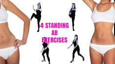 standing exercises are amazing at sculpting your abs and melting off tummy. These standing exercises are amazing at sculpting your abs and melting off tummy. , These standing exercises are amazing at sculpting your abs and melting off tummy. Fitness Workouts, Training Fitness, Easy Workouts, Health Fitness, Strength Training, Fitness Expert, Fitness Logo, Fitness Diet, Rogue Fitness