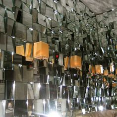 Mirror Cubist Wall Mark's Hotel