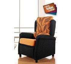 Relájese y tomése un merecido descanso con esta fantástica butaca relax. Tapizada en tela disponible en varios colores, este sillón relax está diseñado para proporcionarle toda la comodidad que usted necesita.