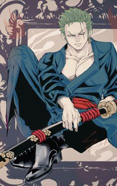 Roronoa Zoro, Anime Art, Art Pieces, Fan Art, Manga, Pints, Artwork, Fictional Characters, Dragon
