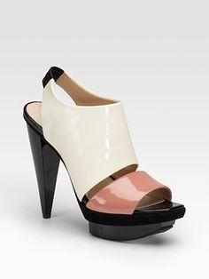 Patent Leather Sandals by Pour La Victoire: On sale $153.99 #Sandals #Pour_La_Victoire