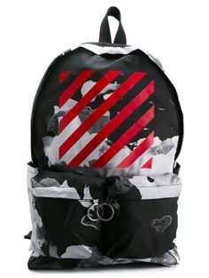 Купить Off-White рюкзак с абстрактным принтом в Deliberti from the world's best independent boutiques at farfetch.com. 400 бутиков, 1 адрес. .