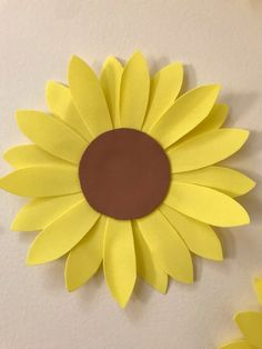 10 pcs Girasoles fiestas infantiles sunflower party decoration room decoration wall foam Sunflower foamy stick on wall Paper Flowers Craft, Flower Crafts, Gender Reveal Decorations Diy, Sunflower Party, Home Projects, Ladybug, Room Decor, Clip Art, Sunflowers