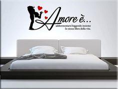adesivi murali personalizzati camera da letto | Adesivi murali ...