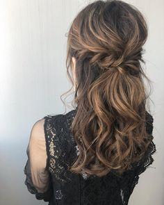 Curled Hairstyles, Wedding Hairstyles, Hear Style, Hair Arrange, Bob, Grunge Hair, High Class, Hair Trends, Hairdresser
