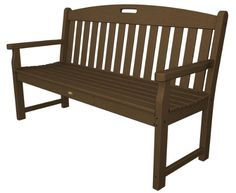 Trex Outdoor Furniture TXB60TH 60-Inch Yacht Club Bench, Tree House « zPatioFurniture.com $600