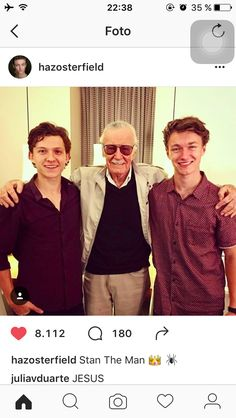 TOM AND HARRISON OMFG