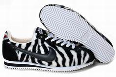 Love love love <3 zebra print Nike Cortez