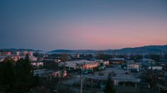 Winter sunrise in Onesti, Romania (February 28, 2008)