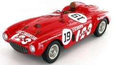 The Ferrari 375 Plus in which Umberto Maglioli won the 1954 Carrera Panamericana