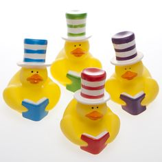 Shop for Stovepipe Hat Rubber Ducks, Ducks, Rubber Ducks. Plus tons of other stunning Ducks party supplies, favors, and decorations.