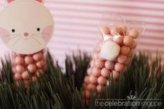 Easter bunny cello bag treats