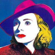 Ingrid Bergman - Andy Warhol