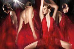 Ad Campaign: Donna Karan Fall/Winter 2014-2015 Model: Karlie Kloss Photographer: Steven Sebring