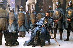No filme Kingdom of Heaven (2005), o personagem Tiberias é inspirado em Raimundo III (conde de Trípoli). É representado por Jeremy Irons, ator fisicamente semelhante à descrição feita por Guilherme de Tiro. Raimundo era o parente varão mais próximo (primo direito) do pai de Balduíno IV.