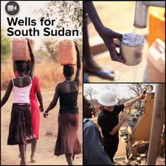 """About 70 percent of the people in South Sudan, the world's newest nation, do not have access to improved water sources. """"Water it's something that many of us who live in North America take for granted,"""" said Samaritan's Purse South Sudan Country Director David Philips."""