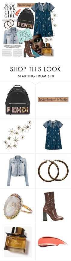 """Just follow your style"" by toasumjas ❤ liked on Polyvore featuring Fendi, DutchCrafters, Global Views, Hollister Co., Andrea Fohrman, Chloé and Burberry"