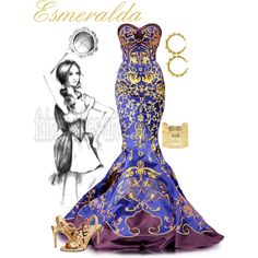 "Hunchback of Notre Dame - ""Esmeralda"" by alyssa-eatinger on Polyvore"