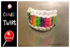como hacer una pulsera rainbow loom
