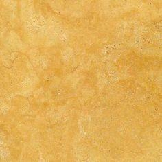 Yellow Travertine Tumbled Unfilled