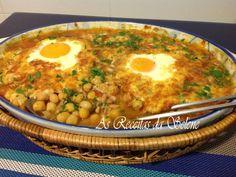 Receita Atum com grão e ovos no forno, de Selene Receitas - Petitchef