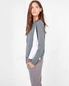 Explore the Comptoir des Cotonniers knitwear collection: cardigans, waistcoats, ponchos, rollnecks and more. Pull, Knitwear, Jumper, Dresses For Work, Sweatshirts, Fabric, Sweaters, Collection, Color