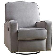 Dale Recliner in Gray  sc 1 st  Pinterest & Roxana Fabric Push Back Recliner - Samu0027s Club $270   New Home ... islam-shia.org