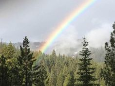 Photo: Did anyone else catch the rainbow over Constellation Residences at Northstar #Tahoe365