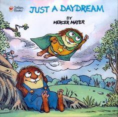 Just a Daydream (Look-Look) by Mercer Mayer http://www.amazon.com/dp/0307119734/ref=cm_sw_r_pi_dp_C9Kfub1DRNJFT