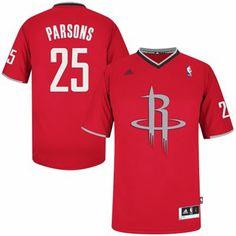 adidas Chandler Parsons Houston Rockets 2013 Christmas Day Swingman Jersey