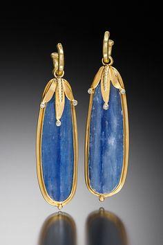 JUDITH KAUFMAN Ear Jewelry, Jewelry Art, Fashion Jewelry, Jewelry Design, High Jewelry, Jewlery, Contemporary Jewellery, Modern Jewelry, Gemstone Earrings