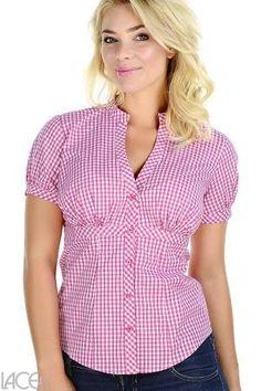 LACE Design - Casual Shirt (G) Skjorte-bluse (F-H skål)