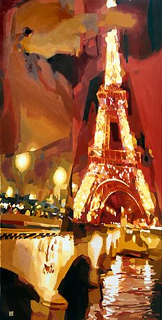 La Tour Eiffel by Oana Lauric