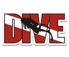 Dive Scuba Diver Sticker