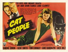 Cat People Movie Posters From Movie Poster Shop