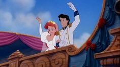Denouement Definition: The final part of a play, movie, or narrative in which the strands of the plot are drawn together and matters are resolved. Example: At the end of The Little Mermaid, Ursula is killed, King Triton turns Ariel into a human, and Ariel marries Prince Eric. Then Sebastian sings over the closing credits. WIN.