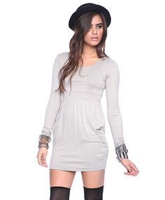 Solid Knit Dress $17.80
