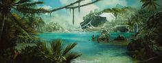 Scifi Jungle by Kaioshen on DeviantArt