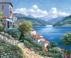 Buy Artland poster or canvas picture Canvas Pictures, Art Pictures, Photos, Images D'art, Oil Painting Frames, Pintura Exterior, Beautiful Places To Visit, Nature Pictures, Beautiful Landscapes
