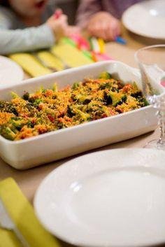 Dinner Party #Recipe: Broccoli, Tomato & Sausage Bake