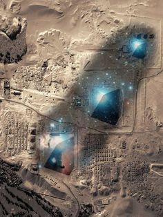 EGIPTO - piramides : estan alineadas con la constelacion de Orion                                                                                                                                                                                 Más
