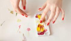 iPhone Hülle mit Trockenblumen selber gestalten - fresHouse